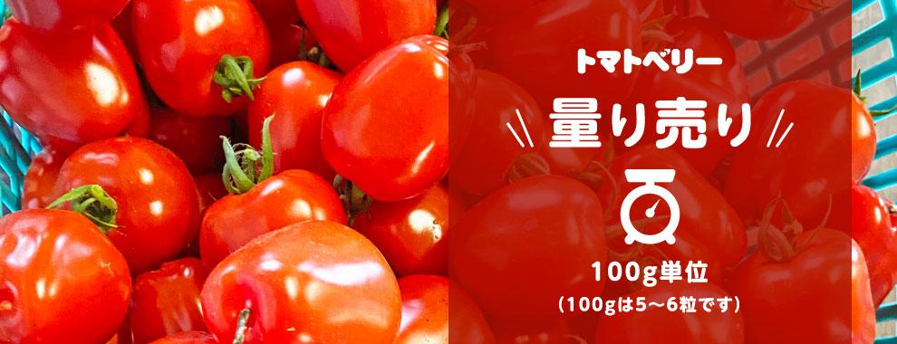 トマトベリー量り売り 100g単位(100gは5〜6粒です)